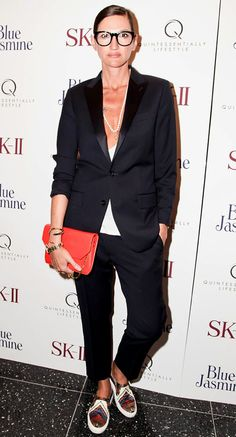 Jenna Lyons in Givenchy sneakers