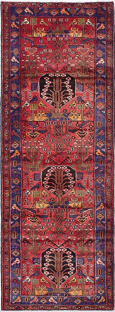 """Hand-knotted carpet 3'8"""" x 10'0"""" Roodbar Wool Rug...DISCOUNTED PRICE! #Unbranded #TraditionalPersianOriental"""
