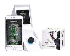Arccos Golf Driver GPS Sensor/Range Finder -- You can find more details by visiting the image link. Golf Swing Analyzer, Junior Golf Clubs, Luxury Gifts For Men, Automotive Solutions, Golf Gps Watch, Golf Apps, Good Drive, Gps Tracking System, Golf Drivers