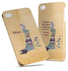 Mulan Quote Disney Personalize  Hard Cover Case by TheQueenOfCases, $22.99