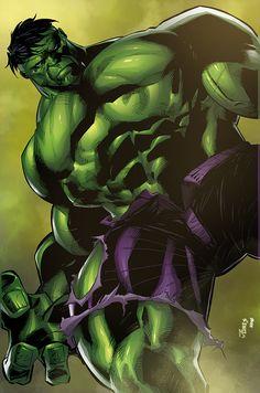 #Hulk #Fan #Art. (Commission: Incredible Hulk) By: K-Bol.