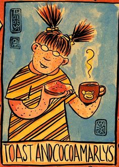 Want to buy some original art by Lynda Barry? Hey! Dig it! You CAN! There are paintings of hers for sale right now on Etsy!