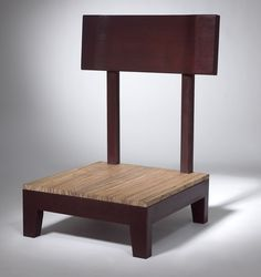 This chair is designed to provide a comfortable seat and back support while meditating (comes with an 8″ silk cushion, not shown). Description from franklinstreetfurniture.com. I searched for this on bing.com/images