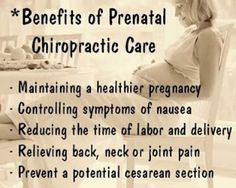 , Chiropractic is great for pregnancy-for both mom and baby!Raya Clinic- Chiropractic, Nutrition, Acupuncture, Spinal Decompression and Benefits Of Chiropractic Care, Chiropractic Quotes, Chiropractic Office, Family Chiropractic, Chiropractic Wellness, Alternative Health, Alternative Medicine, Care During Pregnancy, Back Pain