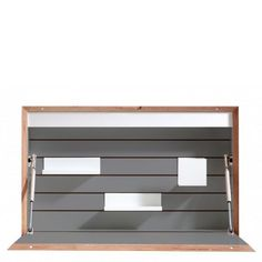 Müller Möbelwerkstätten Flatbox Wandsekretär Anthrazit10604-1