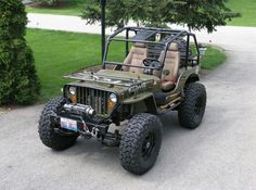 Sweet 47 Willys Jeep from Pirate4x4.com
