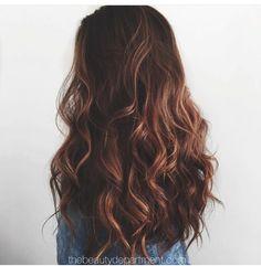 #cabello #castaño #cobrizo