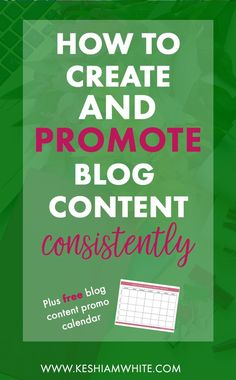 Learn how to create blog content consistently AND how to promote it consistently with these seven steps. Click to read it now or pin to save for later.