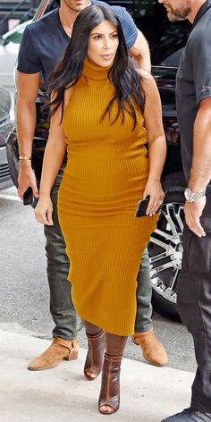 Kim Kardashian's Most Memorable Maternity Style Moments - September 9, 2015 - from InStyle.com