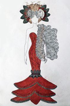 LAP London Art Portfolio - Student work - Fashion Design