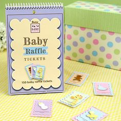 Baby Raffle Tickets - Baby Shower Game   BigDotOfHappiness.com