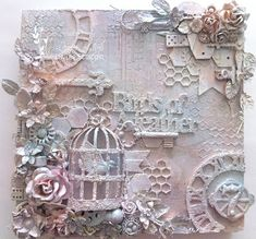 Image result for mixed media canvas collage