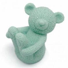 Molde para fazer sabonetes Ursinho feliz.