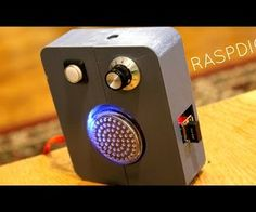 Raspdio, internet radio with raspberry pi