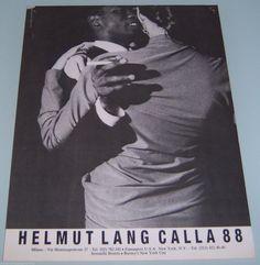 1988 print ad • ellen von unwerth for helmut langUS $9.99 BIN