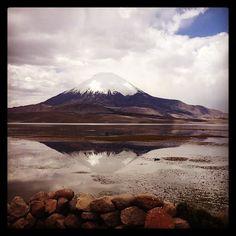 Lago Chungara w Arica, Arica y Parinacota
