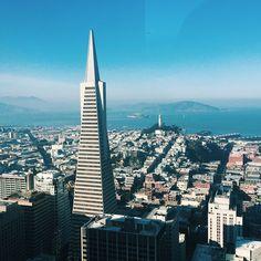 Gorgeous day in San Francisco. Photo courtesy of teresa_ on Instagram.