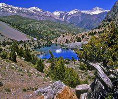 fan mountains in tajikistan