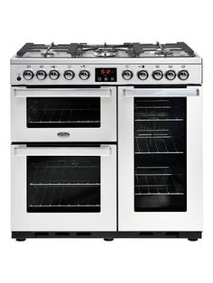 Buy Belling Cookcentre Electric Range Cooker With Induction Hob, Stainless Steel from our Cookers range at John Lewis & Partners.