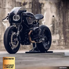 BMW Motorrad – Bavarian Fistfighter  R nineT | DERESTRICTED