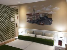 Habitaciones III Hotel Mayorazgo   Garabato Mural