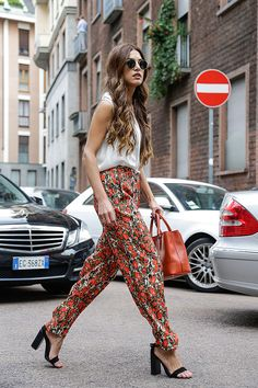 Trends: The Tropics, Street Style // Spring fashion 2015: 186 photos of the top 10 trends of the season http://www.fashionmagazine.com/fashion/trends-fashion/2014/10/09/top-spring-2015-trends/