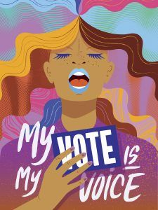 We are partnering with the Women's March through a public call for art for POWER TO THE POLLS: A touring exhibit to inspire people to take to the polls. Get Out The Vote, Rock The Vote, Protest Art, Protest Signs, Vote Quotes, Voting Process, Vote Now, Women's Vote, Political Art