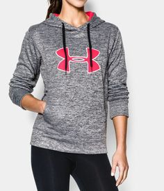 Women's UA Storm Big Logo Twist Hoodie | Under Armour US