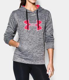 Women's UA Big Logo Applique Twist Hoodie | Under Armour US