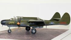 Hersteller: HobbyBoss| Sparte: Historische Flugzeuge | Katalog Nummer: 87261 - US P-61A Black Widow Maßstab: 1:72 | Einzelteile: 91 | Länge: 210mm | Spannweite: 279mm Black Widow, Scale Models, Fighter Jets, Aircraft, Creative, World War Two, Catalog, Aviation, Scale Model