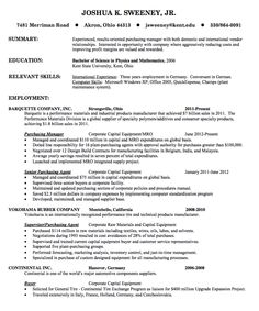 this examples resume example for purchasing manager we will give you a refence start on building resume you can optimized this example resume on creating