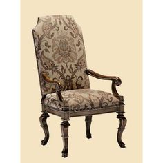 Marge Carson SEV66 Seville Arm Chair available at Hickory Park Furniture Galleries