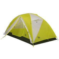 Big Agnes Tumble MtnGlo Two Person Camp Tent  One of the Big Agnes mtnGLO camping tent collection, brighten up your camp with the Tumble 2 mtnGLO backpacking tent. Illuminated with patent-pending Tent Lighting Technology featuring LED lights built into the tent body, experience light in your tent with the push of a button.