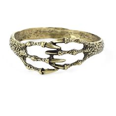 Chicwish Wrapped Claw Bracelet ($13) ❤ liked on Polyvore