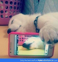 Gf caught me sleeping