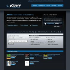 jQuery - A brilllliant JavaScript Library beloved by many web developers across the lands.
