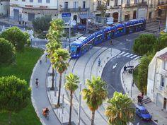 VLT (Veículo leve sobre trilhos) - Tramways - Light Rail - Montpellier