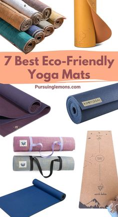 7 Best Eco-Friendly Yoga Mats for a Healthier Practice | Every yogi knows the value of a high-quality yoga mat. Here are top picks of eco-friendly, non-toxic yoga mats that will take your practice to the next level! get your eco friendly yoga mat today! #ecofriendly #yoga #yogamats #wellness #sustainableliving