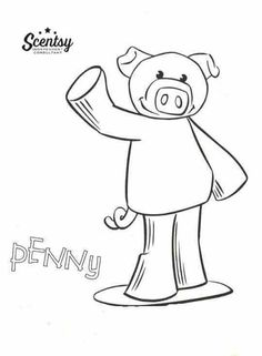 print off this scentsy buddy coloring page and enjoy to print off just click on the website and click on download and then hit control p http