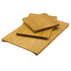 Bamboo Undercut Design Cutting Boards (421550001), Discount Eco Friendly  Kitchen Products | Shop