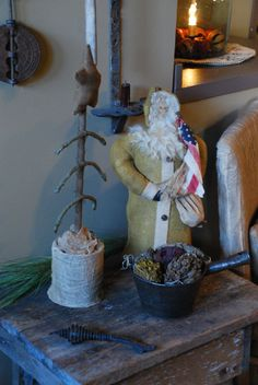 Primitive Country Christmas | by A Storybook Life