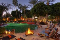 Firesky Resort & Spa, Scottsdale AZ is an oasis in the middle of Scottsdale.