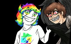 I've seen a lot of creepy things but that's the creepiest. <<same, and im part of the creepypasta fandom