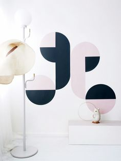Floor lamp and hanger in one by SWEDISH NINJA