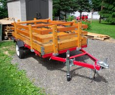 Woodworking on a Half-Shoestring #45: Harbor Freight Folding Utility Trailer Build - by Paul Bucalo @ LumberJocks.com ~ woodworking community