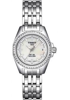 8adfc93b346 Swiss Tissot T-Sport PRC 100 Stainless Steel Womens Replica Watch T22.1.181.
