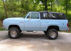 '78 Dodge Ramcharger SE