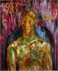 Larionov, Mikhail - Portrait de V .E. Tatline - Centre Georges-Pompidou, Paris