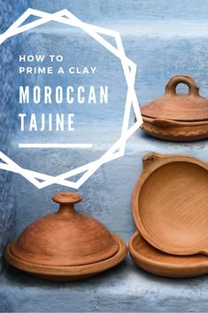 ~Ethnic&chic~ When buying a new clay tajine, it must be prepared or primed prior to use. It's not a hard process - get the instructions for priming a clay tajine here! Tajin Recipes, Delicious Vegan Recipes, Delicious Dishes, Eastern Cuisine, Middle Eastern Recipes, Foodie Travel, Cooking Tips, Helpful Hints, Traveling By Yourself