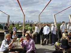 LONDON: Frank's Café | 17 London Rooftop Bars You Must Visit Before You Die